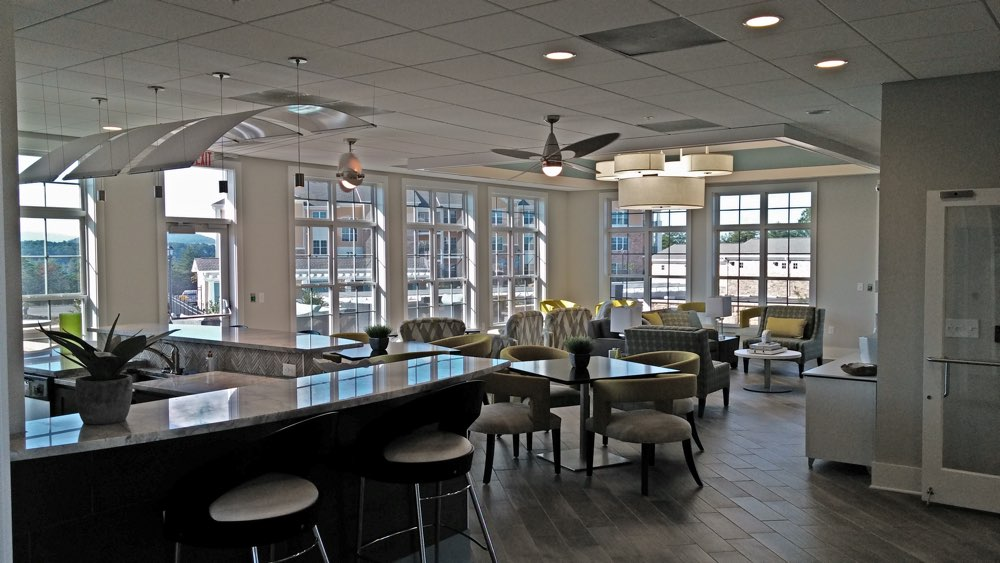 Nice Clubhouse Dining Room